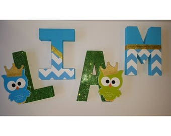 Owl Name Letters
