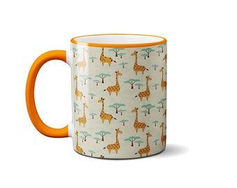 Giraffe Mug Funny Ceramic Office Coffee Tea Cup Animal Novelty Gift Color Change