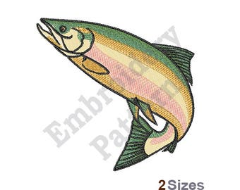 Salmon - Machine Embroidery Design