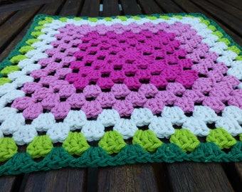 Crochet Watermelon Dishcloth