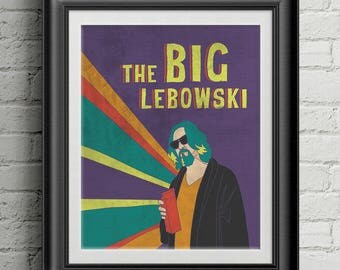 "The Big Lebowski 8""x10"" Print"