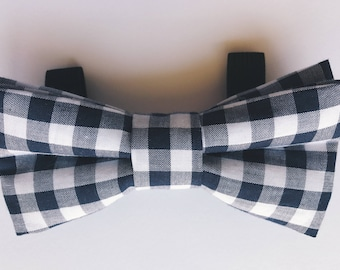 Plaid Dog Bowties