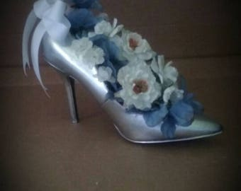 Custom High Heel Shoe Centerpiece