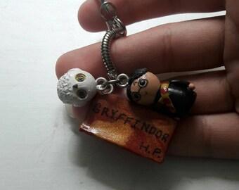 Miniature Harry Potter Keychain