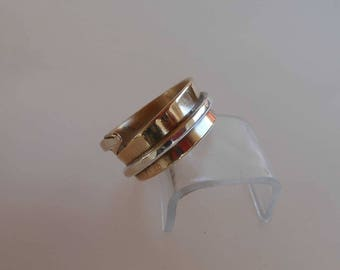 ring in bronze and silver Ba C0503