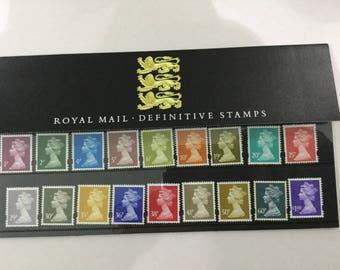 Definitive Stamps Royal Mail Mint Stamps Presentation Pack 1995