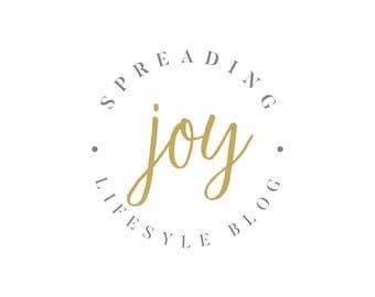 Blogger Logo - Lifestyle Blog Logo - Premade Logo - Boutique Logo - Circle Logo - Minimal Logo - Professional Logo