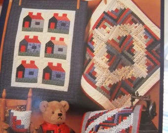 Little Quilts Collection - Cabins