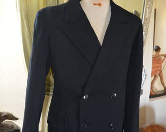 """1930s  Mans French Jacket-36"""" chest"""