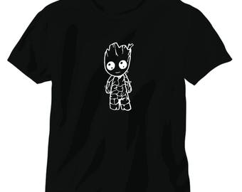 Baby groot tee shirt guardians of the galaxy