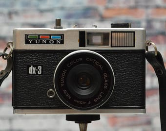 Yunon DX-3 35mm viewfinder compact film camera