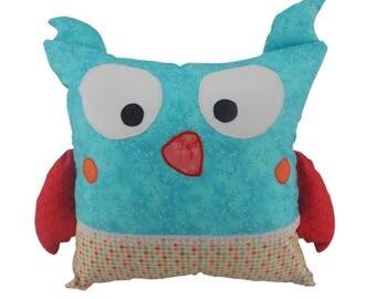 Cushion cover - Henriette the owl