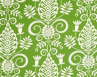 Lawn Green Whimsy Doozie Fabric no.257