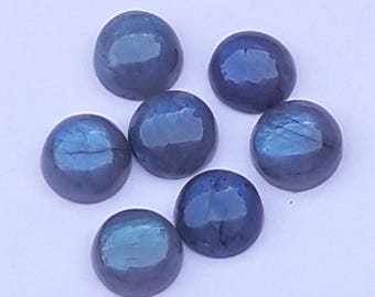 7 Pc Lot Very Nice Quality 12 MM Round Labradorite Loose Gem Stone Labradorite Cabochon Labradorite For Making Jewelry Labradorite Gemstone