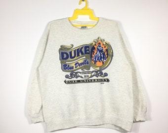 Free Shipping Vintage DUKE UNIVERSITY Sweatshirt