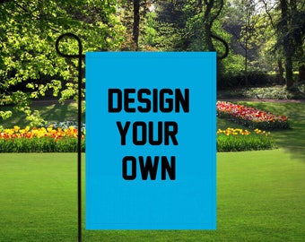 Personalized Garden Flags, Design Your Own Flag, Family Names, Garden Flag,  Custom