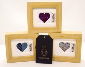 Small Harris Tweed Heart pictures