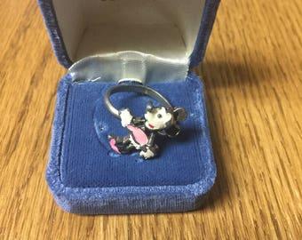 Vintage Walt Disney Minnie Mouse Ring