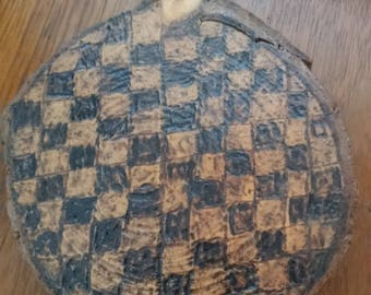 4x4 Coasters Made From Cedar Wood Set Of 4 Checkerboard