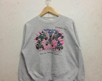 Vintage 90's Hanes Activewear Sweatshirts Size L