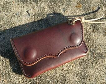 The Single Axle Wallet ~ Horween CXL