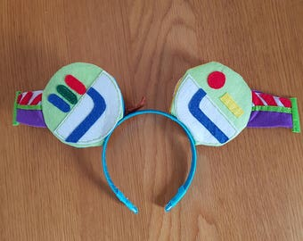 Handmade Mickey Mouse Ears - Toy story - Double sided