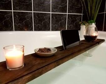 Wood Bathtub Tray - Bath Tray