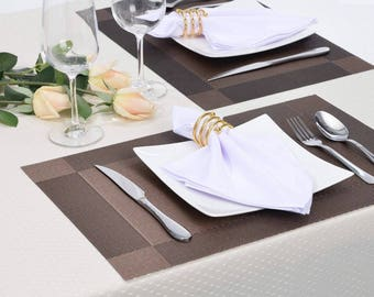 100% cotton napkins 20*20