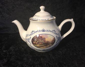 Thomas Kinkade Teacup Village Teapot