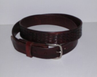 Ron Myers Geometric Belt  0539