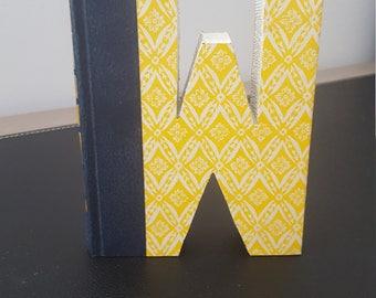 Vintage Hardcover Reader's Digest Book Letter - W