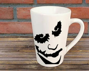 Dark Knight Batman Joker Mug Coffee Cup Halloween Gift Home Decor Kitchen Bar Gift for Her Him Any Color Personalized Custom Merch Massacre