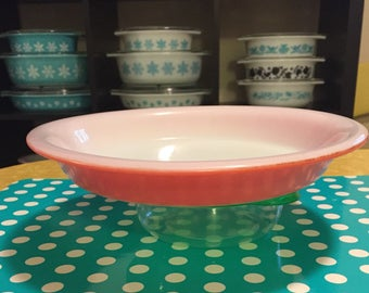 "Pyrex Flamingo 9"" Pie Plate"