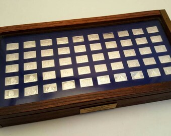 The Great Sailing Ships Of History Silver Ingot Collection
