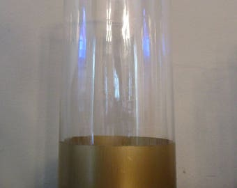 Gold Dipped Vases for Centerpieces (Set of 10)