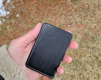 Minimalist Card Wallet, Minimalist Card Sleeve, Minimalist Leather Wallet, Mens Minimalist Leather Wallet, Front pocket Wallet, Card Wallet