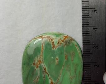 Australian Variscite with vinyl back