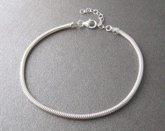 Serpentine link Silver 925/1000