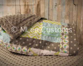 Soft Minky Baby Quilt