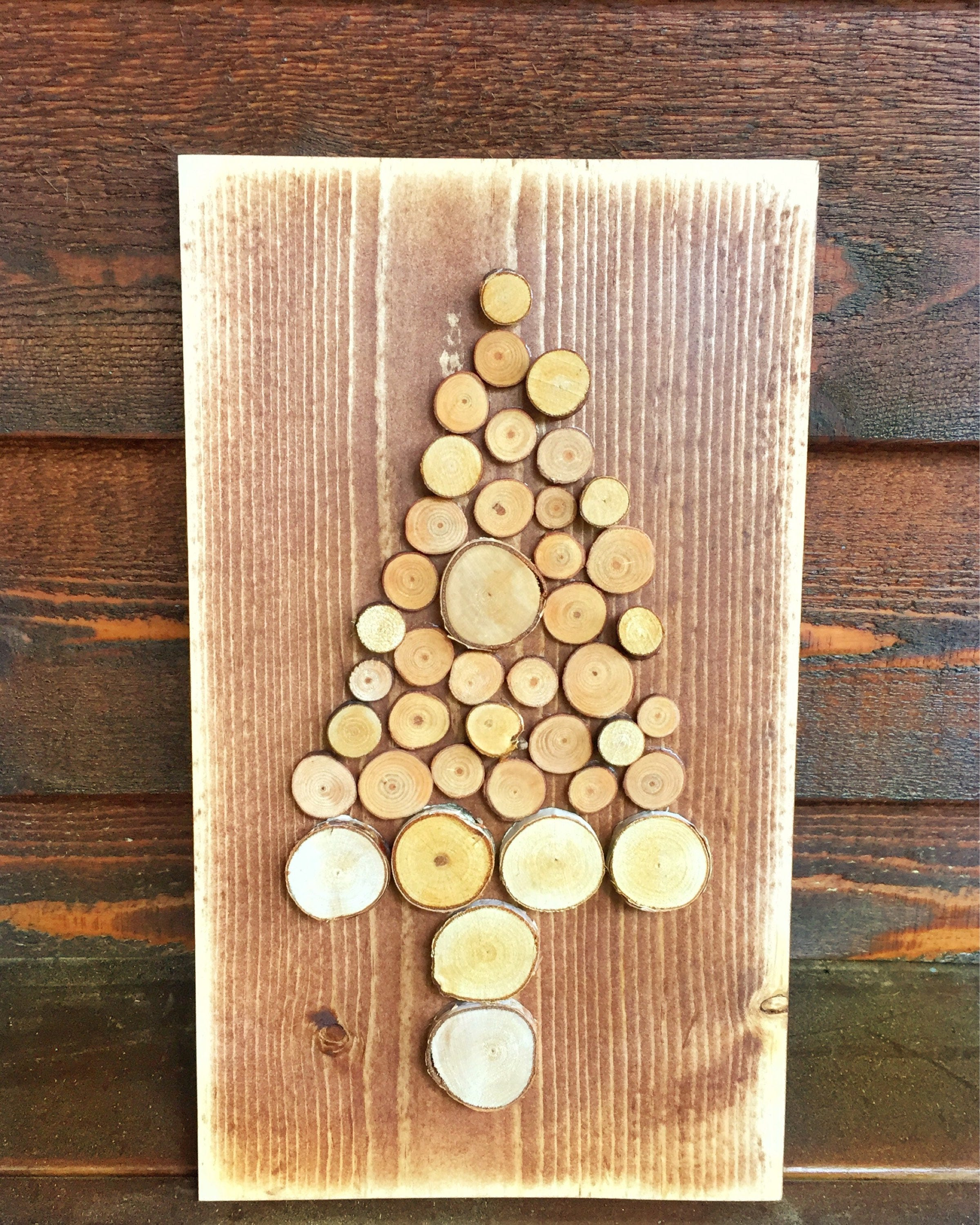 Rustic wood tree, handmade wood tree, wooden tree, tree wall hanging ...