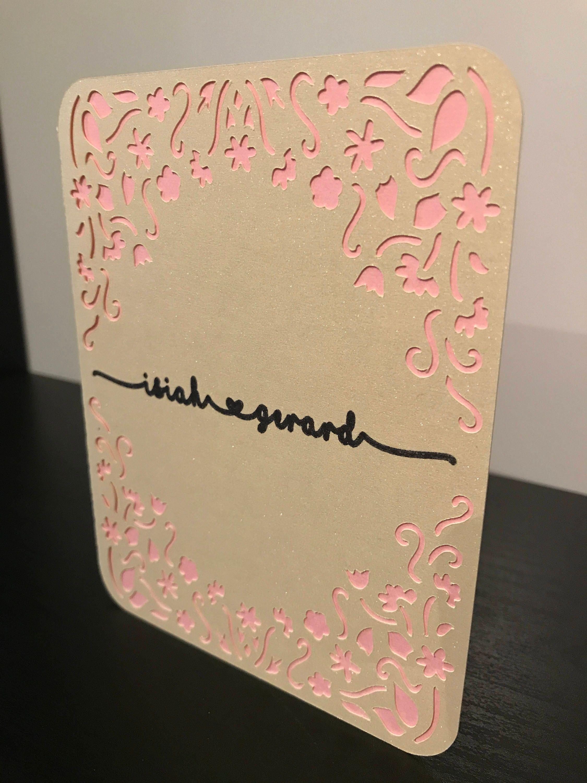 Personalized Wedding Card. Personalized Wedding Cards. Home Design Ideas