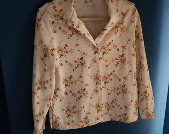 Devonette Ladies Vintage Size Med. Blouse