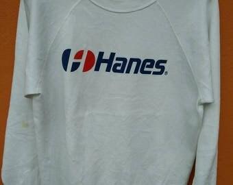 Vintage hanes big logo sweatshirt