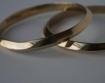 Brass Bracelet/ Brass Cuff