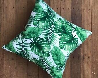 Tropical Palm Cushion Cover 50 x 50