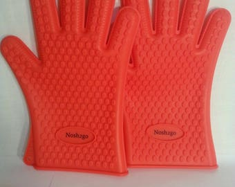 BBQ,Oven Heat Resistant Gloves, Good for 425 Degree's