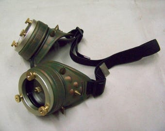 Steampunk Spiked Goggles