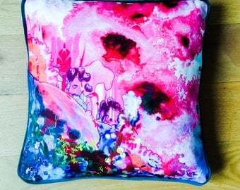 Scatter Cushion using Timorous Beasties fabric