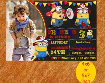 Minions Birthday Invitation, Minions Invitation, Minions Birthday, Minions Party, Printable, Instant Download