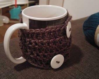 Crochet mug cosie